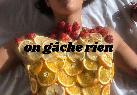 Sauvez les fruits